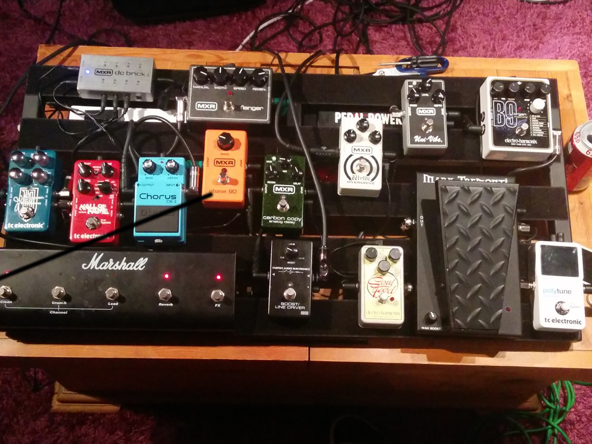 Joe Green's Pedalboard